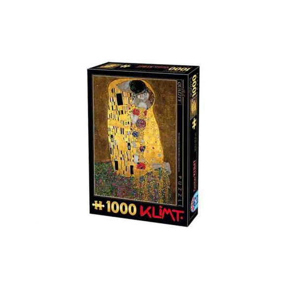 D-Toys 1000 db-os puzzle - Klimt: The Kiss - 66923