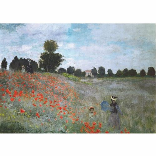 D-Toys 1000 db-os puzzle - Monet: Poppies - 67548