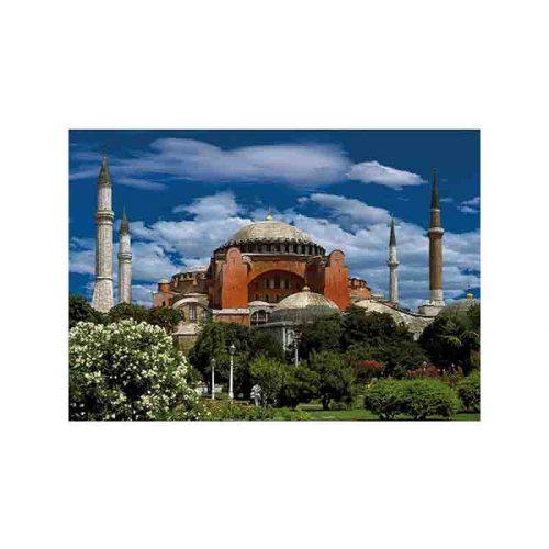 D-Toys 500 db-os puzzle - Landscapes: Hagia Sophia, Istanbul, Turkey - 69252