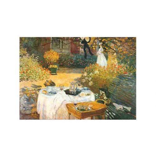 D-Toys 1000 db-os puzzle - Monet: Breakfast - 69689