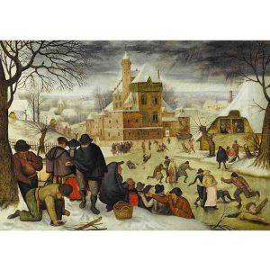 D-Toys 1000 db-os puzzle - Brueghel: Winter - 70005
