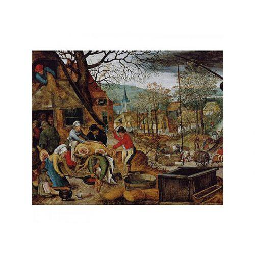 D-Toys 1000 db-os puzzle - Brueghel: Autumn 70012