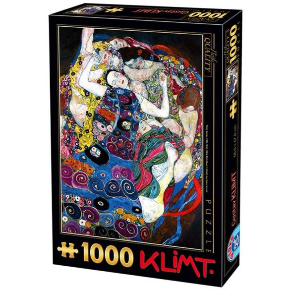 D-Toys 1000 db-os puzzle - Klimt: The Virgin - 70135