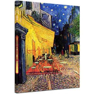 D-Toys 1000 db-os puzzle - Van Gogh: Cafe Terrace at Night - 70180