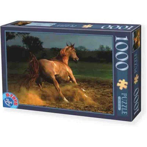 D-Toys 1000 db-os puzzle - Horses: Beige Horse - 70388