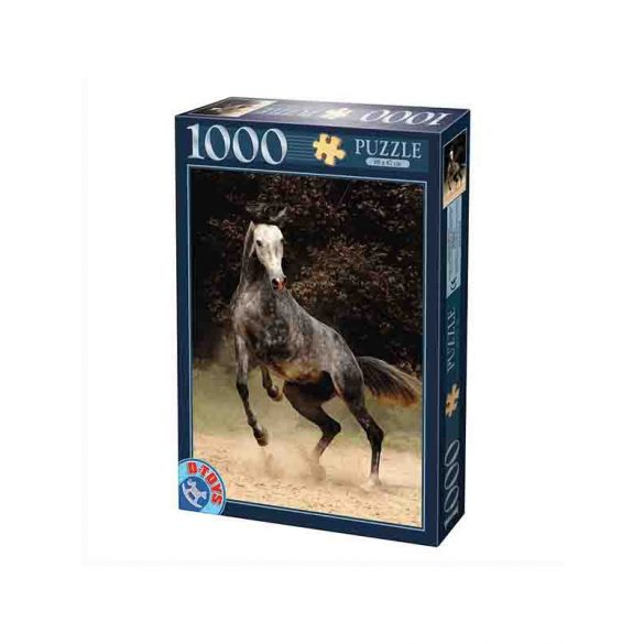 D-Toys 1000 db-os puzzle - Horses: Spotted Horse - 70401