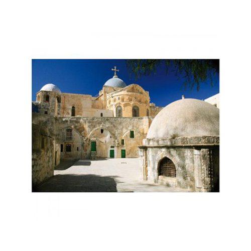 D-Toys 1000 db-os puzzle - Famous Places: Jerusalem, Israel - 70593