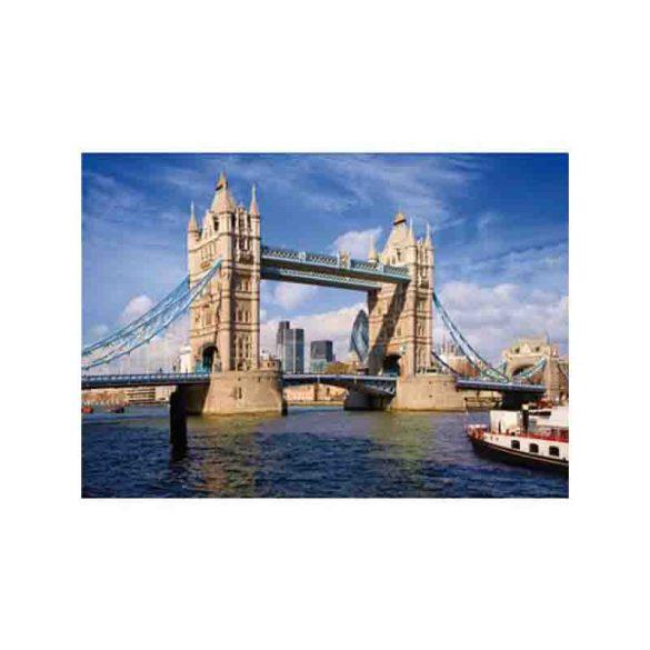 D-Toys 1000 db-os puzzle - Famous Places: Tower Bridge, London - 70609