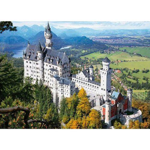 D-Toys 1000 db-os puzzle - Famous Places: Neuschwanstein Castle, Germany - 70654