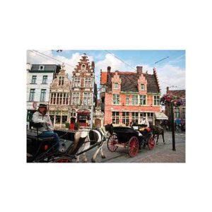 D-Toys 1000 db-os puzzle - Landscapes: Gent, Belgium - 70821