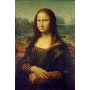 D-Toys 1000 db-os puzzle - Leonardo da Vinci: Mona Lisa - 72689