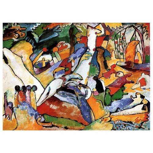 D-Toys 1000 db-os puzzle - Kandinsky Vassily: Composition II - 72849