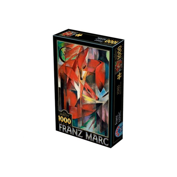 D-Toys 1000 db-os puzzle - Marc Franz: Foxes - 72856