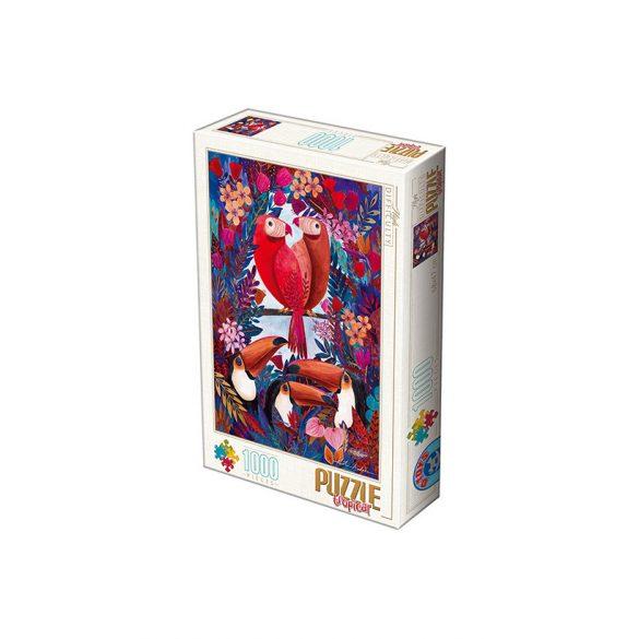D-Toys 1000 db-os puzzle - Kürti Andrea: Tropical - 72887