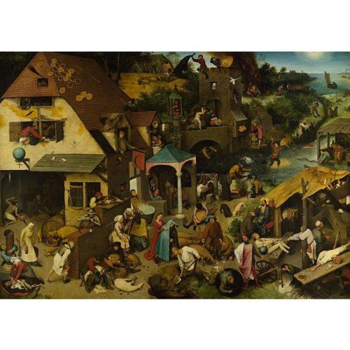 D-Toys 1000 db-os puzzle - Brueghel Pieter: Flemish Proverb - 73778