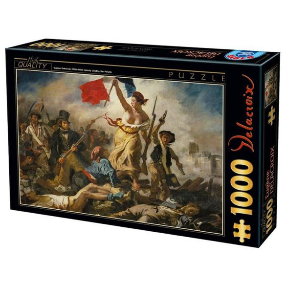 D-Toys 1000 db-os puzzle - Eugène Delacroix: Liberty Leading the People - 73808