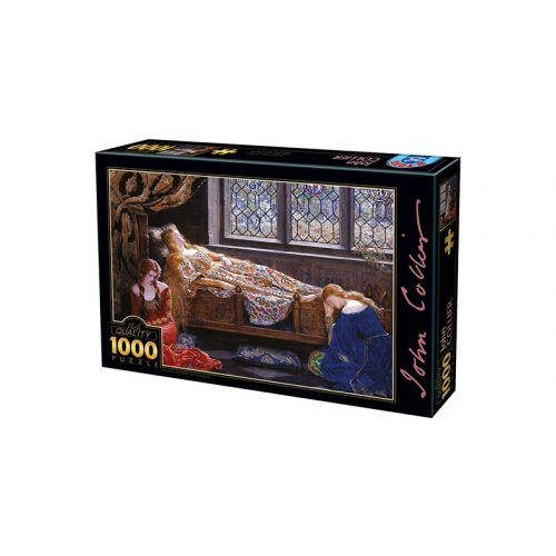 D-Toys 1000 db-os Puzzle - John Collier: The Sleeping Beauty - 73822