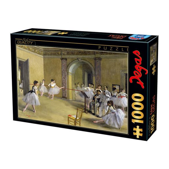 D-Toys 1000 db-os puzzle - Edgar Degas: The Dance Foyer at The Opera - 74515