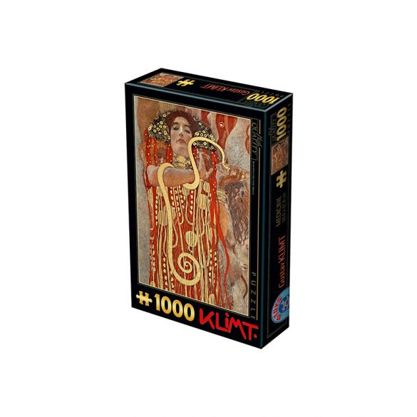D-Toys 1000 db-os puzzle - Gustav Klimt: Hygieia, 1900 - 74553
