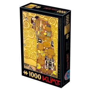D-Toys 1000 db-os puzzle - Gustav Klimt: The Hug - 74560