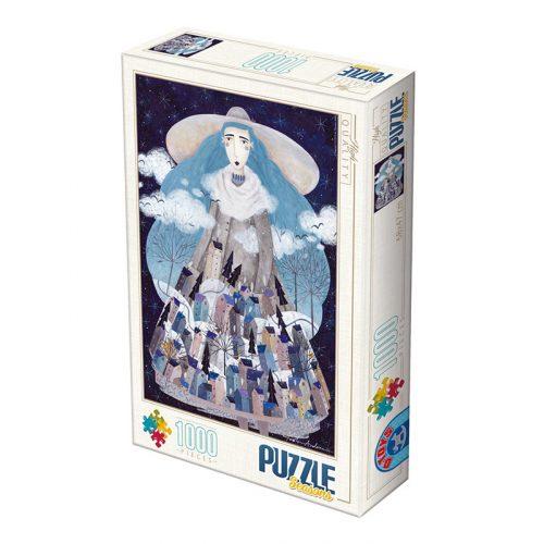 D-Toys 1000 db-os Puzzle - Kürti Andrea: Winter - 74669