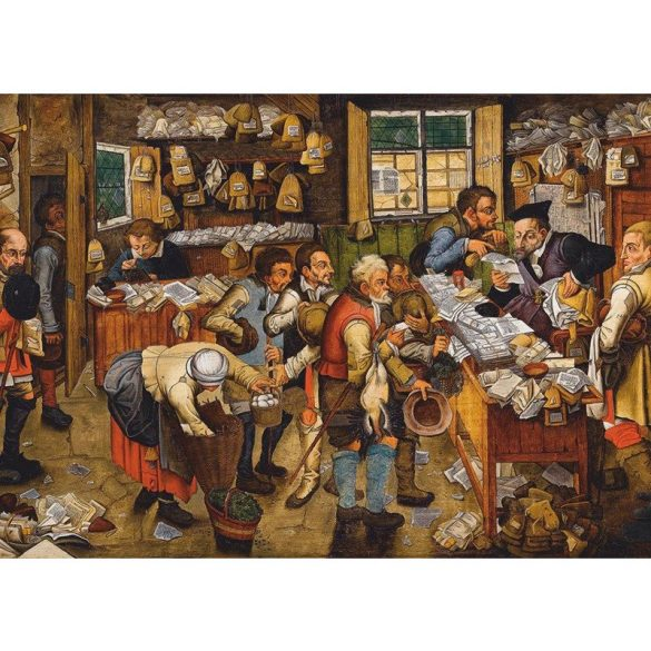 D-Toys 1000 db-os puzzle - Brueghel Pieter the Younger: The Payment of the Tithes, 1617-1622 - 74942