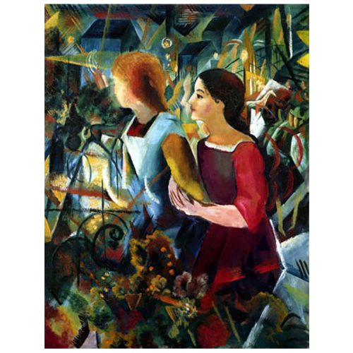 D-Toys 1000 db-os puzzle - August Macke: Two Girls 75154