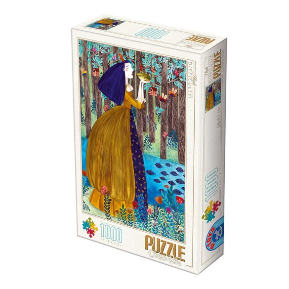 D-Toys 1000 db-os Puzzle - Kürti Andrea: The Frog Princess - 75161