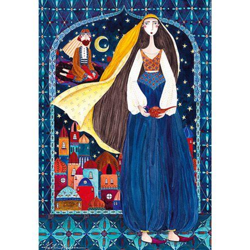 D-Toys 1000 db-os Puzzle - Kürti Andrea: Arabian Nights - 75178