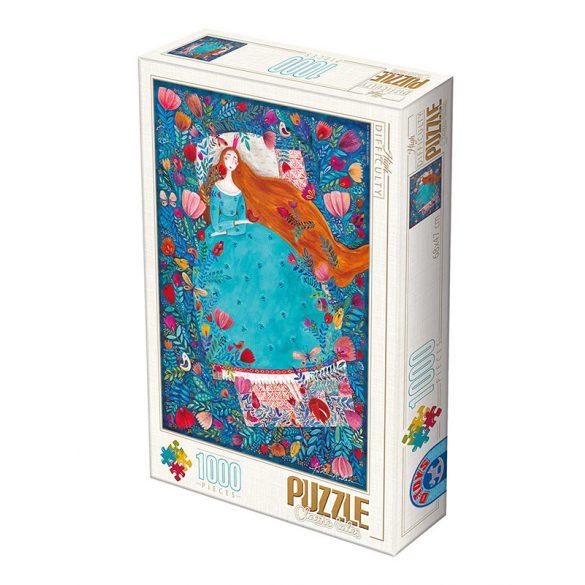 D-Toys 1000 db-os Puzzle - Kürti Andrea: Sleeping Beauty - 75185