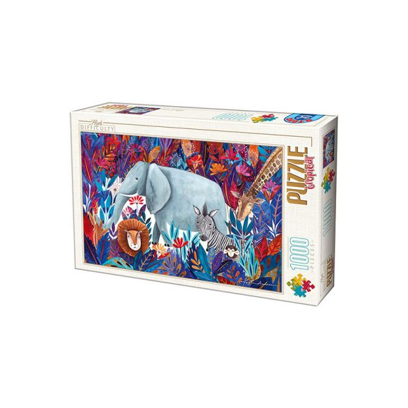 D-Toys 1000 db-os puzzle - Kürti Andrea: Tropical - 75215