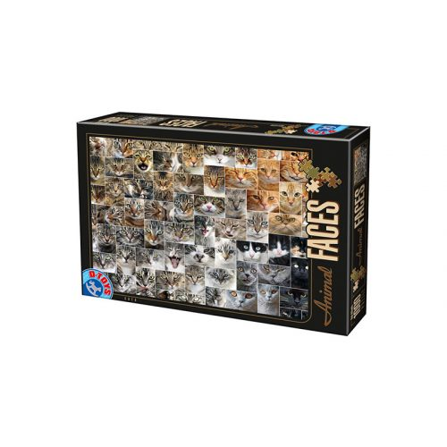 D-Toys 1000 db-os puzzle - Collage - Cats 75260