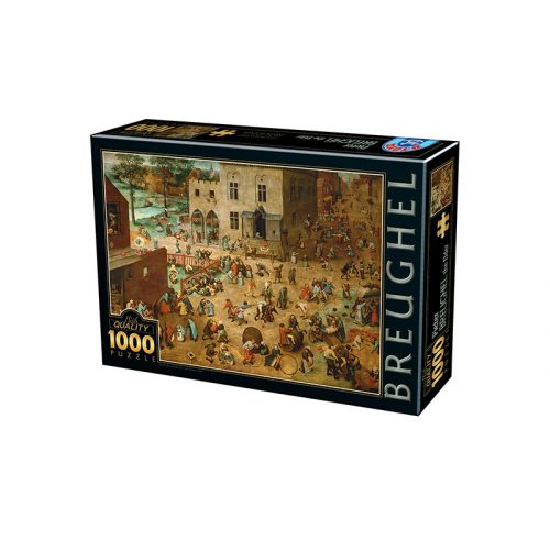 D-Toys 1000 db-os puzzle - Pieter Brueghel: Pieter Brueghel - 75857