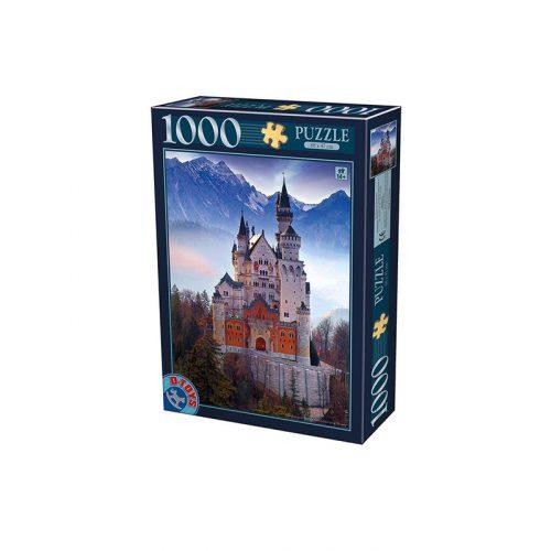 D-Toys 1000 db-os puzzle - Neuschwanstein - 75963