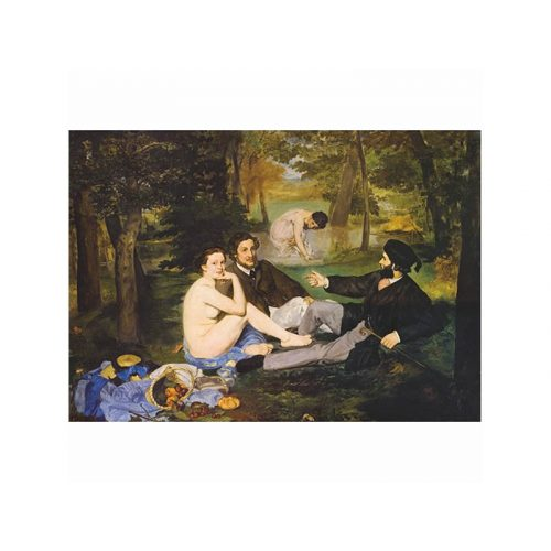 D-Toys 1000 db-os puzzle - Manet: Breakfast on the Grass 76458