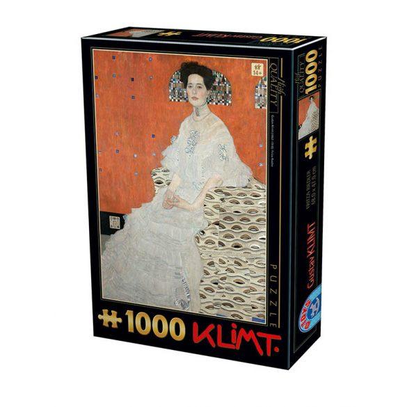D-Toys 1000 db-os puzzle - Gustav Klimt: Fritza Riedler 76861