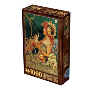 D-Toys 1000 db-os puzzle - Vintage Posters - Chocolat Carpentier 76892