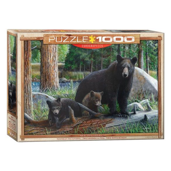 Eurographics 1000 db-os Puzzle - New Discoveries - 6000-0793