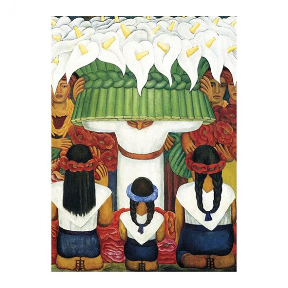 EuroGraphics 1000 db-os Puzzle - Diego Rivera - Flower Festival - 6000-0798