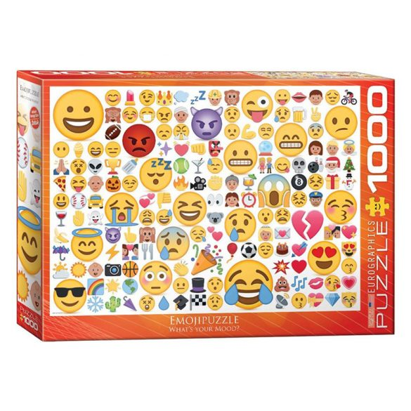 Eurographics 1000 db-os Puzzle - Emotipuzzle -What's your Mood - 6000-0816