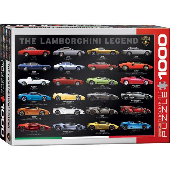 Eurographics 1000 db-os puzzle - The Lamborghini Legend - 6000-0822