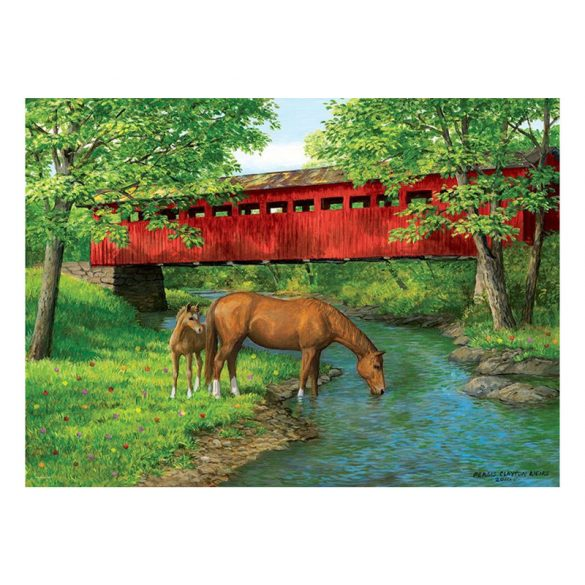 Eurographics 1000 db-os Puzzle - Sweet Water Bridge - 6000-0834