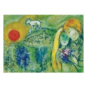 Eurographics 1000 db-os Puzzle - Marc Chagall - The Lovers of Vence - 6000-0848