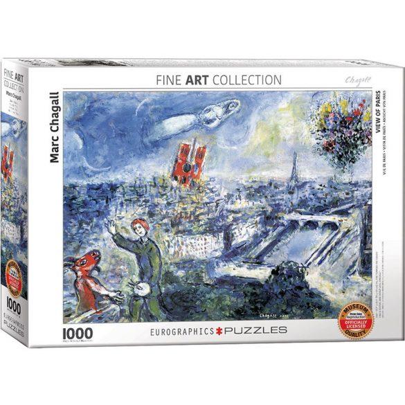Eurographics 1000 db-os puzzle - Marc Chagall: Le Bouquet de Paris - 6000-0850