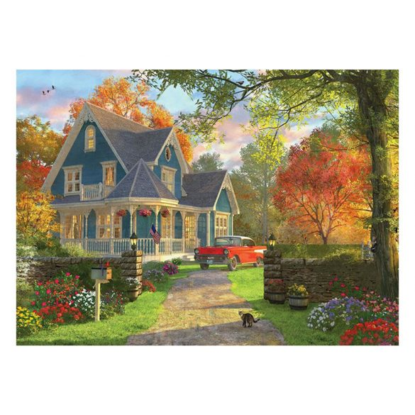 EuroGraphics 1000 db-os Puzzle - Dominic Davison - The Blue Country House - 6000-0978