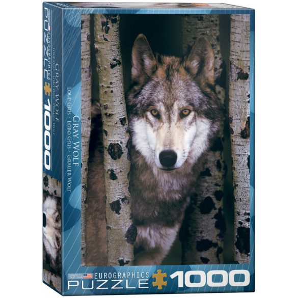 EuroGraphics 1000 db-os Puzzle - Gray Wolf - 6000-1244
