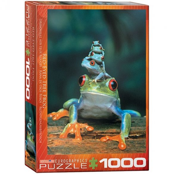 Eurographics 1000 db-os Puzzle - Red-Eyed Tree Frog - 6000-3004