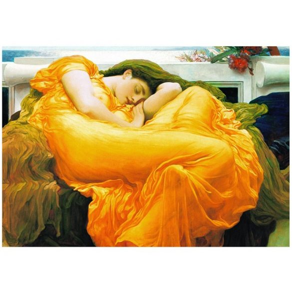 Eurographics 1000 db-os puzzle - Frederick Lord Leighton: Flaming June - 6000-3214