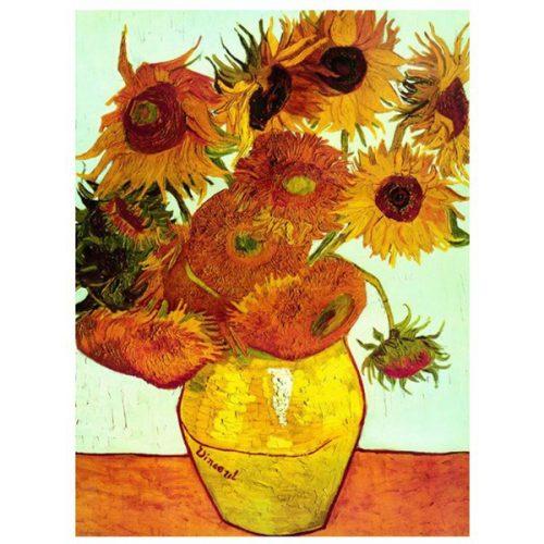 Eurographics 1000 db-os puzzle - Van Gogh - Sunflowers - 6000-3688