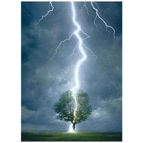 Eurographics 1000 db-os Puzzle - Lightning striking a tree - 6000-4570